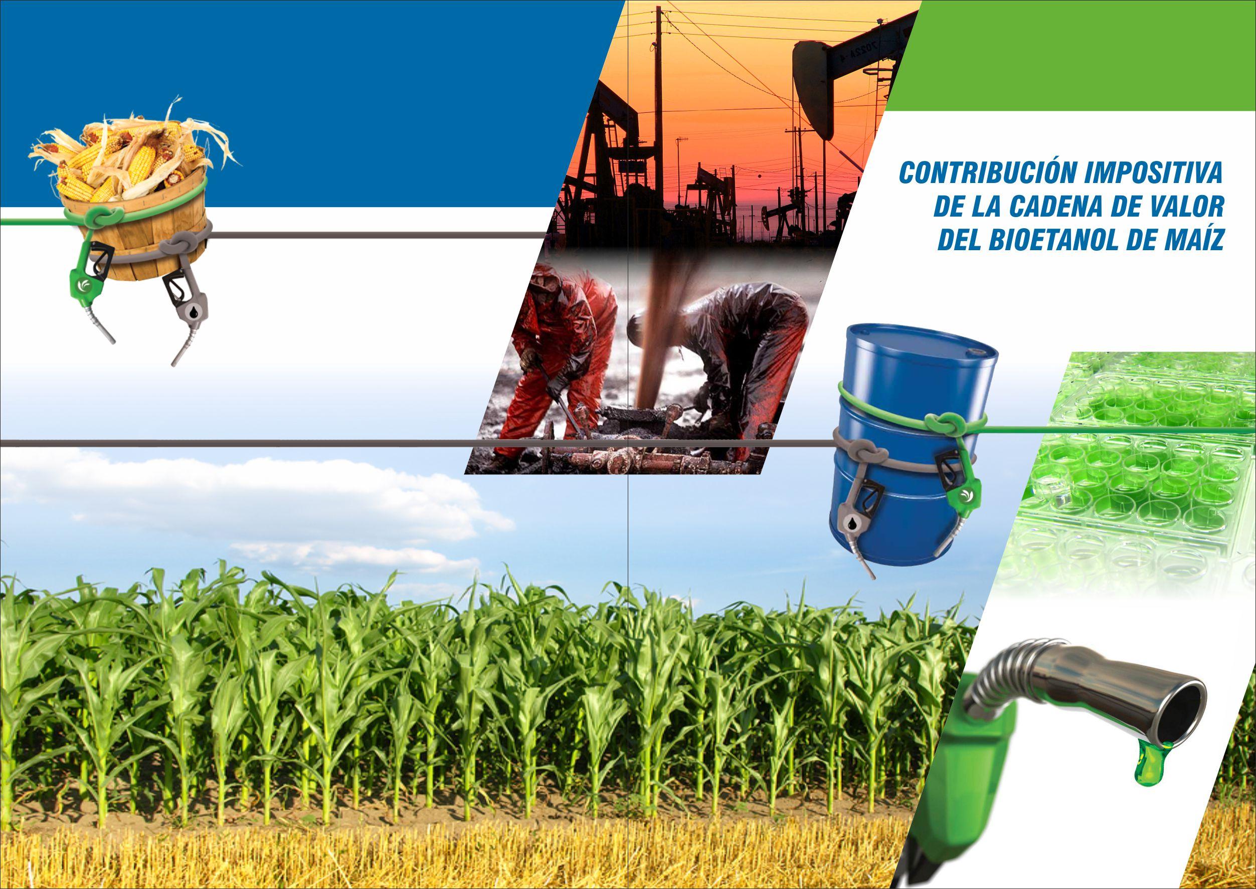Contribución impositiva de la cadena de valor del bioetanol de maíz