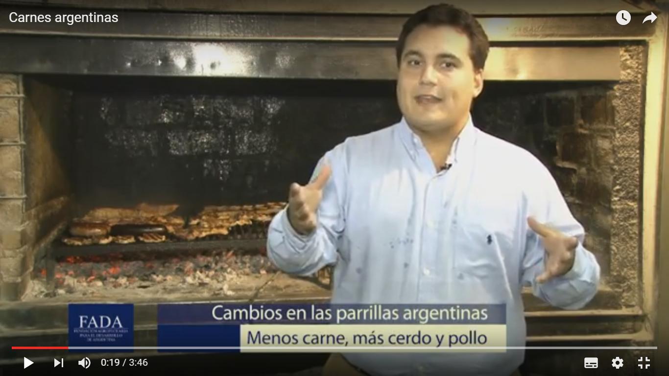 Carnes argentinas- David Miazzo-Coord. Investigaciones FADA