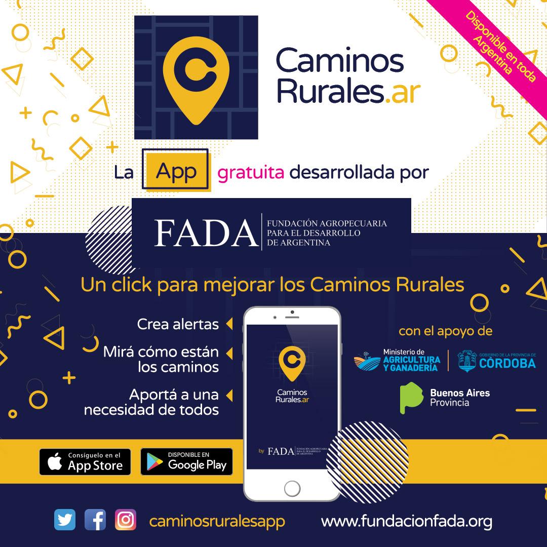 Caminos Rurales: una App para trasladarnos mejor