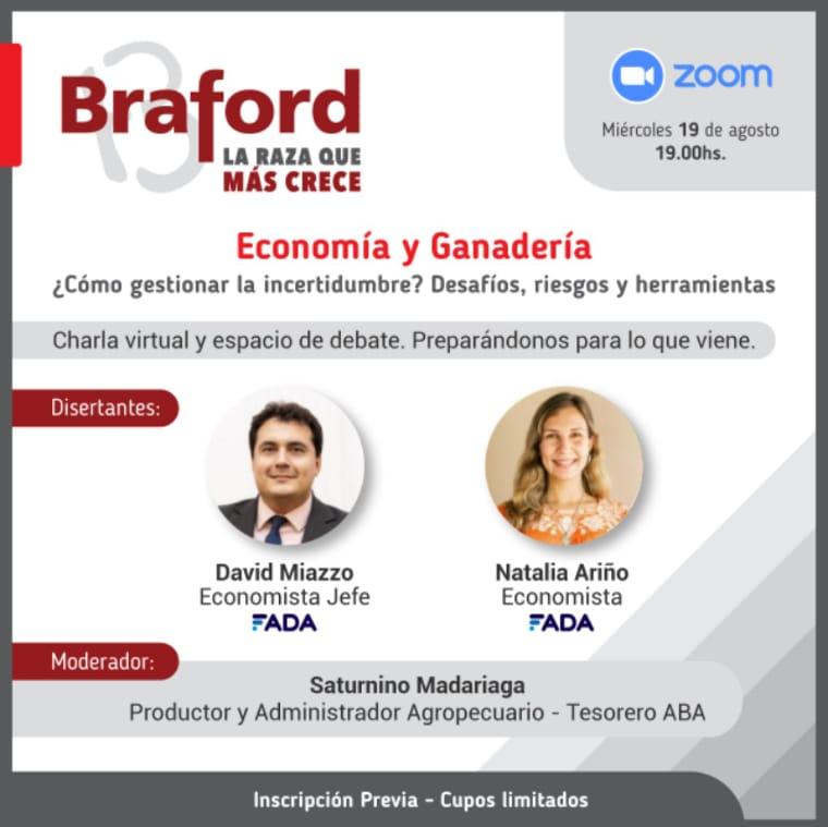 Economía y Ganaderia: ¿Cómo gestionar la incertidumbre? Desafíos, riesgos y herramientas