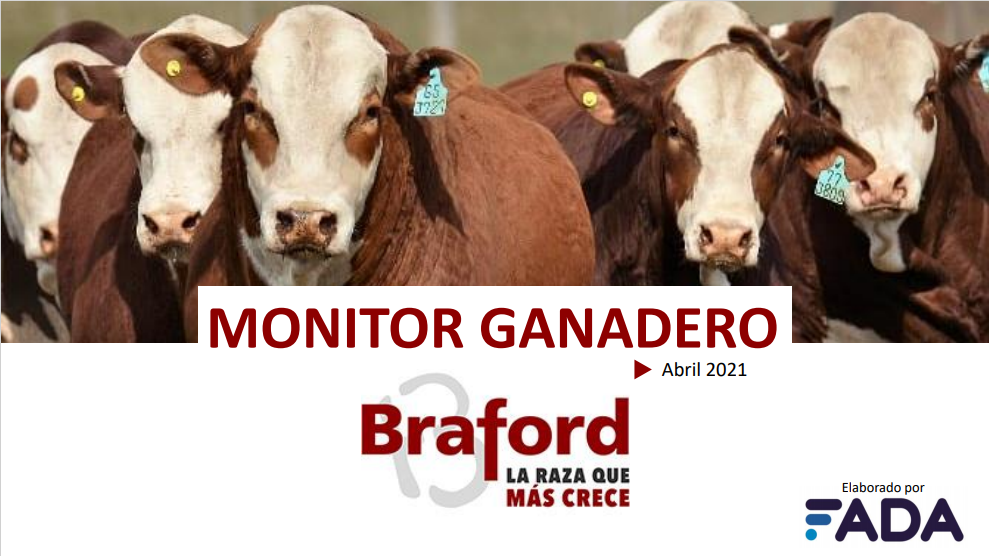 Monitor Ganadero – Abril 2021