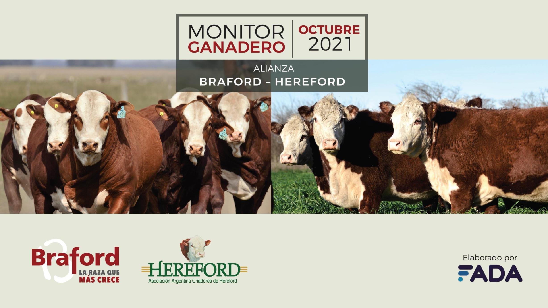 Monitor Ganadero – Octubre 2021